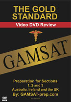 The Gold Standard Video DVD Review GAMSAT